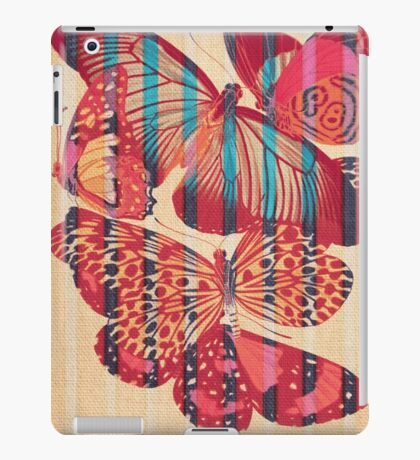 Butterflies in Strips iPad Case/Skin