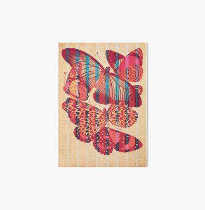 Butterflies in Strips Art Board