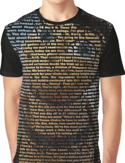 bee movie script ( you can read it) Graphic T-Shirt