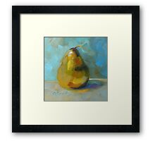 Lonely Pear by Chris Brandley Framed Print