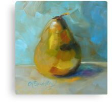Lonely Pear by Chris Brandley Canvas Print