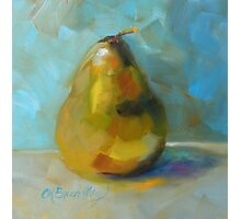 Lonely Pear by Chris Brandley Photographic Print