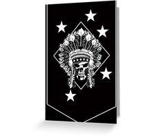Raiders Greeting Card