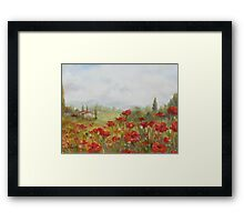 Poppies by Chris Brandley Framed Print