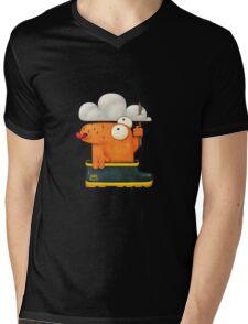 Ministry of rain Mens V-Neck T-Shirt