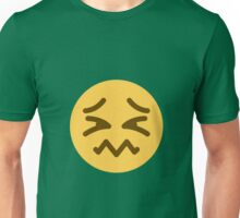 Confounded face Unisex T-Shirt