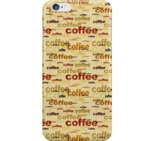 Coffee iPhone Case/Skin