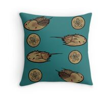 Trilobite Friends Throw Pillow