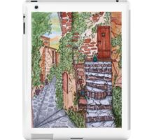 Ancient Crumbling Stone Steps iPad Case/Skin