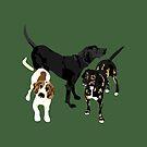 Nicky, Petunia and Lil Joe by VieiraGirl