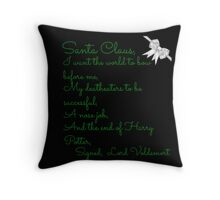 Santa C Throw Pillow