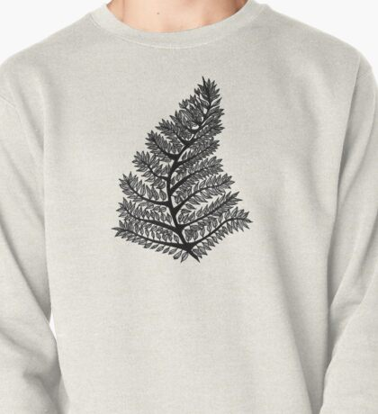 Fern Drawing - 2015 Pullover