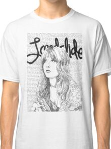 Stevie Landslide Lyrics Classic T-Shirt