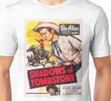Vintage poster - Shadows of Tombstone Unisex T-Shirt