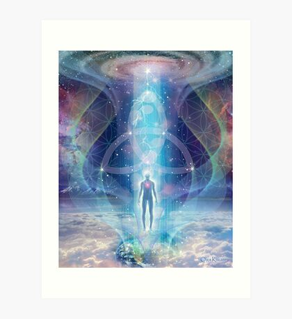 """A Spark of the Creator!"" -   Trinity-  Sacred Geometry  Art Print"