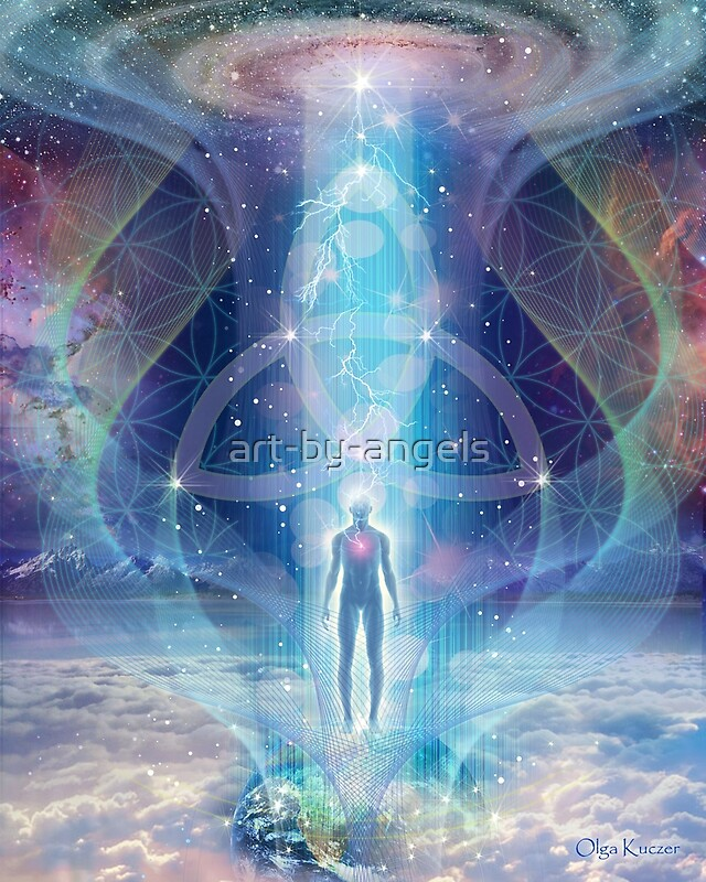 quotquota spark of the creator� trinity sacred geometry quot by