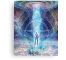 """A Spark of the Creator!"" -   Trinity-  Sacred Geometry  Canvas Print"
