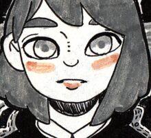 Constellation Girl Sticker