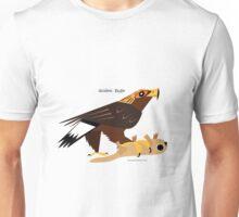 Golden Eagle caricature Unisex T-Shirt