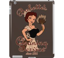 Babette's Cleaning Service iPad Case/Skin