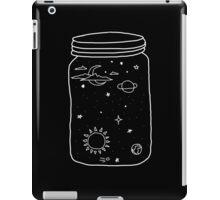 space in a jar iPad Case/Skin