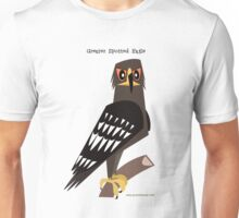 Greater Spotted Eagle caricature Unisex T-Shirt