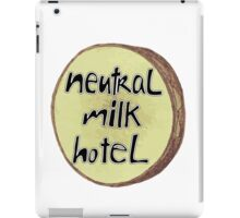 Neutral Milk Hotel Logo iPad Case/Skin