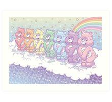 Care Bears - Rain Makers <3 Art Print