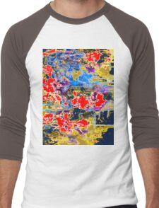 Midnight Acid  Men's Baseball ¾ T-Shirt