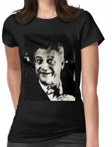 """Rodney Dangerfield Autographed Photo B/W """"Thanks Robert"""" Womens Fitted T-Shirt"""