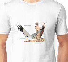 Hen Harrier caricature Unisex T-Shirt