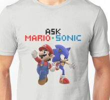 Ask Mario and Sonic #2 Unisex T-Shirt