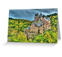 Burg Eltz, Rhineland-Palatinate, Germany Greeting Card