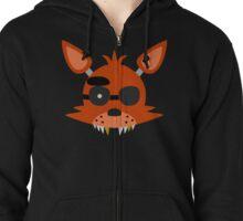 Simplistic Foxy Head Zipped Hoodie