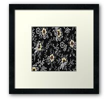 beautiful flowers  Framed Print