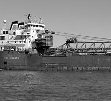 CSL Niagara BW by marybedy