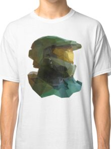 Low Poly Master Chief Classic T-Shirt