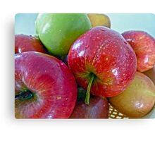 An apple a day...... Canvas Print