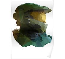 Low Poly Master Chief Poster