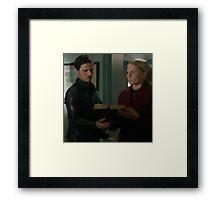 Captain Swan 43 Framed Print