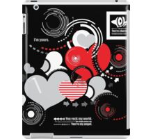 Creative hearts iPad Case/Skin