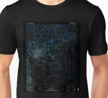 USGS TOPO Map Arkansas AR Van Buren 259782 1987 24000 Inverted Unisex T-Shirt