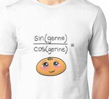 sin(gerine)/cos(gerine) = tangerine (REVAMPED) Unisex T-Shirt