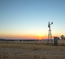 Sunsets as the Wonderful Windmill stands tall... by mitpjenkeating