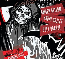 Poster for Deathrock Night Terrors II | Grim Reaper by caseycastille