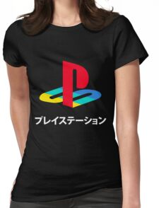 Playstation Game Womens Fitted T-Shirt