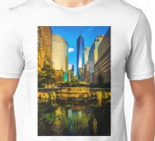 The Sunset Colors Of Battery Park City Unisex T-Shirt