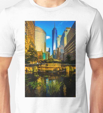 The Sunset Colors Of Battery Park City Unisex T-Shirt