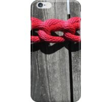Dock Rope 2 iPhone Case/Skin