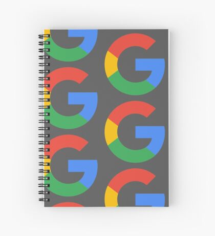 Google Alphabet Spiral Notebook